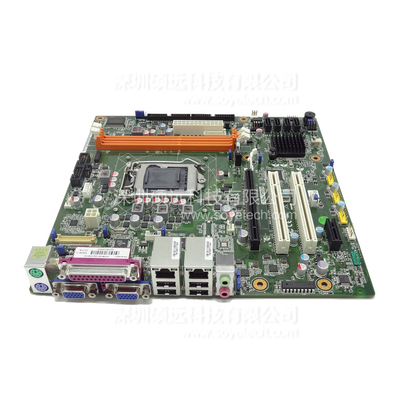 研华AIMB-501 ATM, VTM, BST, SST,自助查询终端专用MicroATX主板