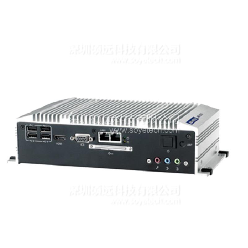 研华紧凑型嵌入式工控机ARK-2120L 含4G内存 500G硬盘