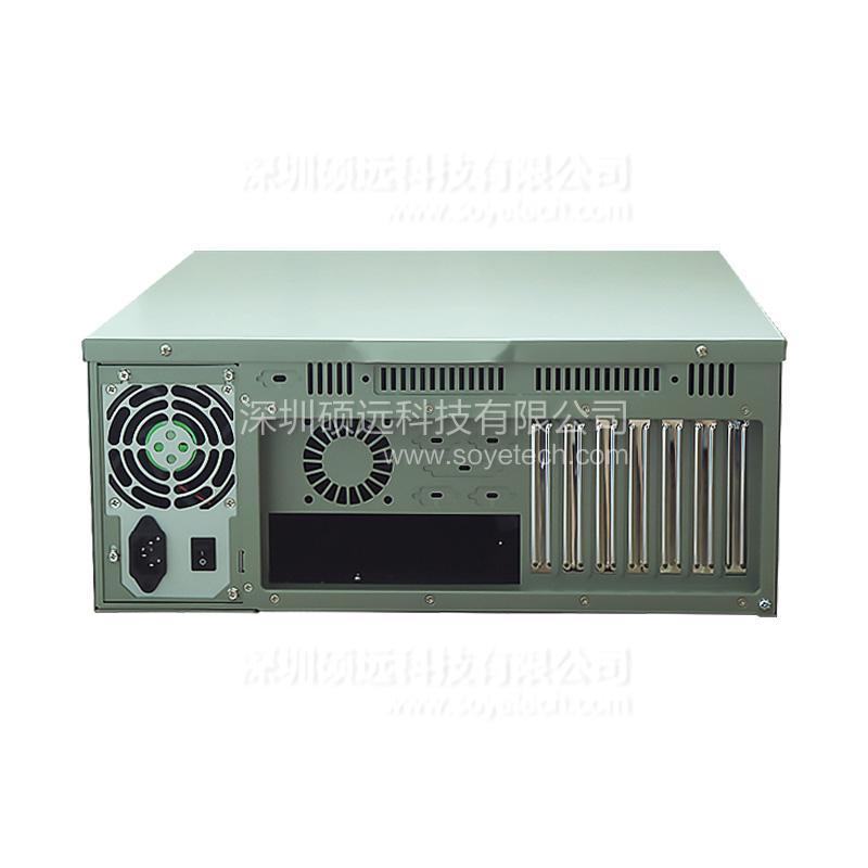 全新研华上架式工控机箱IPC-610MB-L空机箱