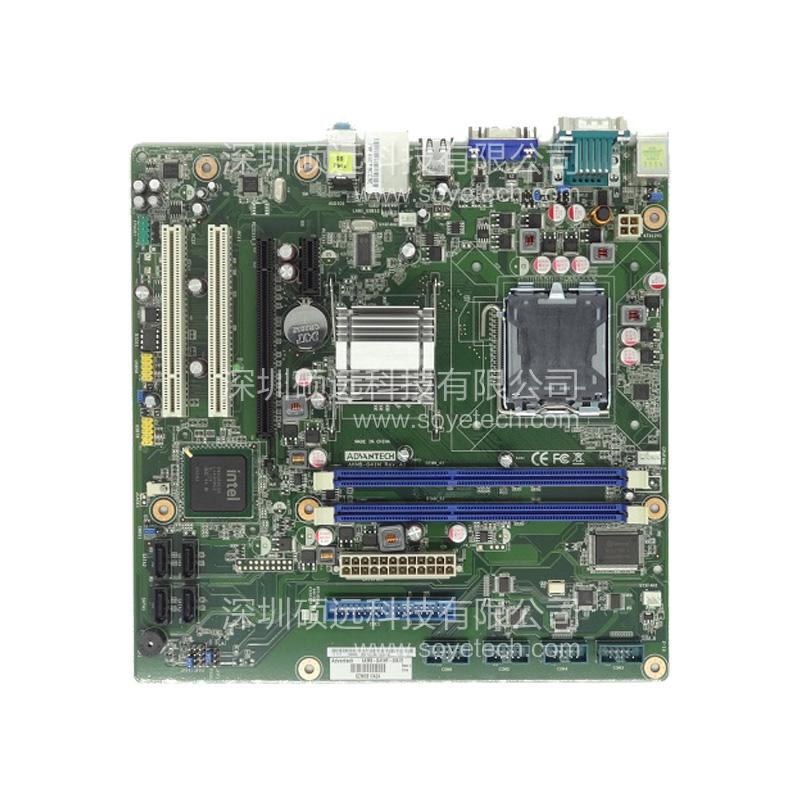 研华原装AKMB-G41-00A1E工业母板 搭载IntelCore2 Quad LGA 775处理器的MicroATX主板