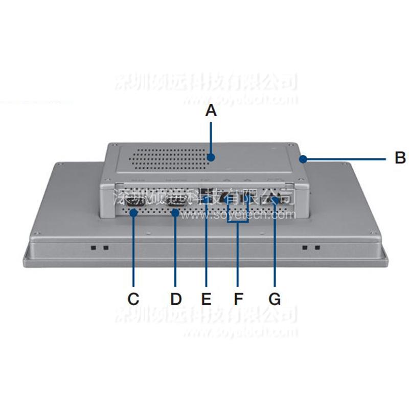 研华原装机TPC-1251T 12.1寸 TFT液晶显示器瘦客户端工业平板电脑
