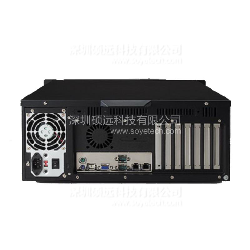 研华IPC-611 工业机箱研华4U610系列黑色款标准19尺上架