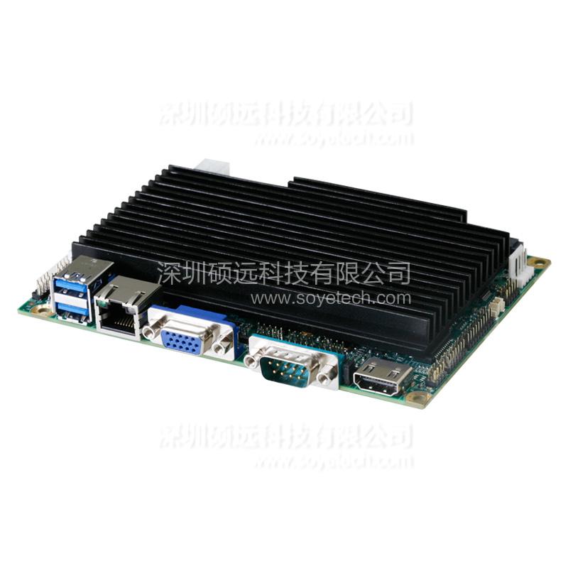 研祥第四代凌动系列3.5寸单板电脑板载 EC3-1820V2NA