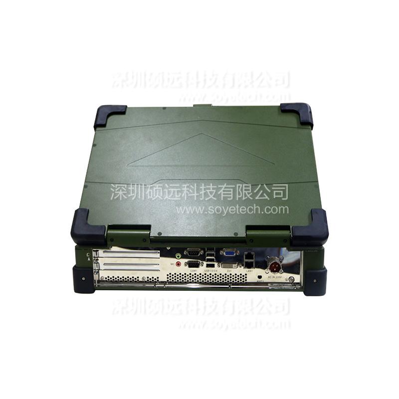 研祥15寸LCD 上翻盖便携式加固计算机JEC-1503C