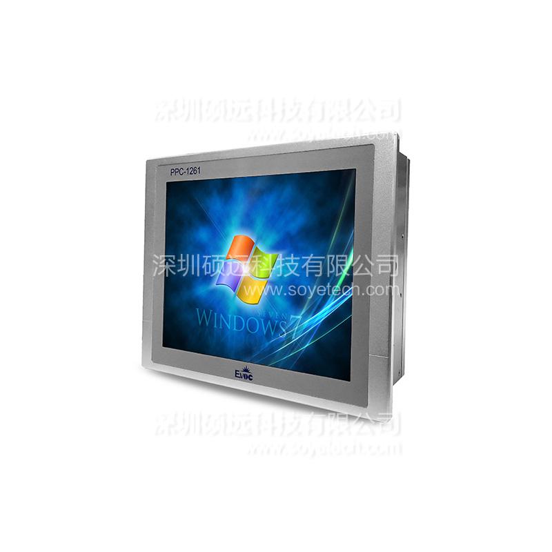 研祥12寸低功耗无风扇工业平板电脑 PPC-1261V