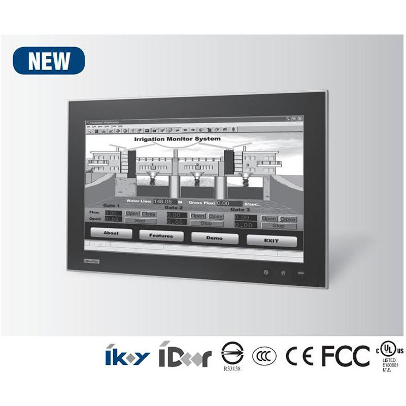 研华原装机TPC-1881WP 18.5寸TFT液晶显示器多点触控工业平板电脑