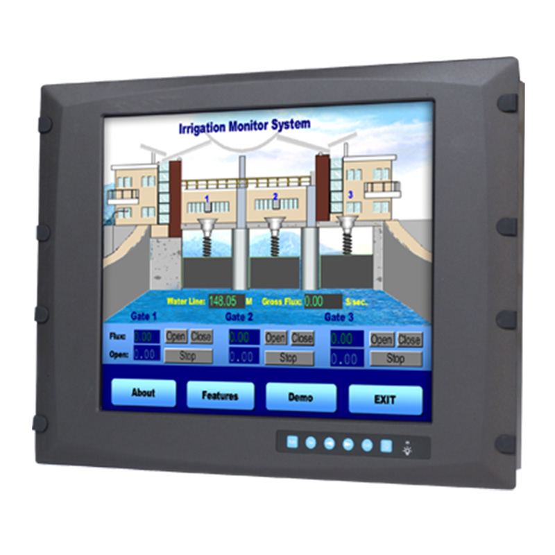 研华 工业等级平板显示器FPM系列 12.1寸工业显示器 FPM-3171G