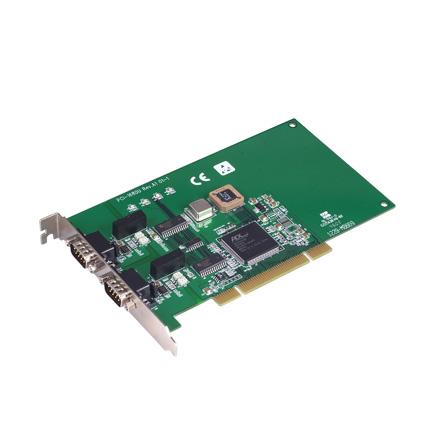 研华PCI-1680U双端口CAN通用PCI总线通信卡,含隔离保护功能