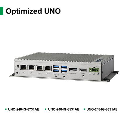 研华嵌入式风扇工业电脑UNO-2484G