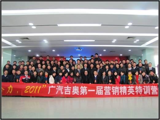 2012年某民营企业区域经理团队训练营