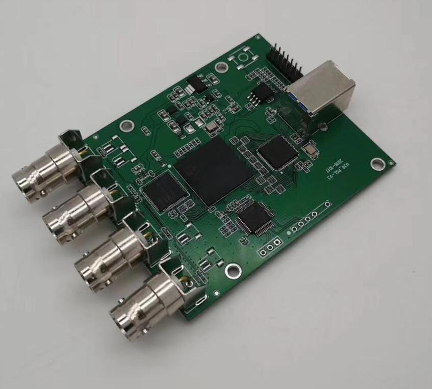 4路AHD 720P转U3 FPGA方案