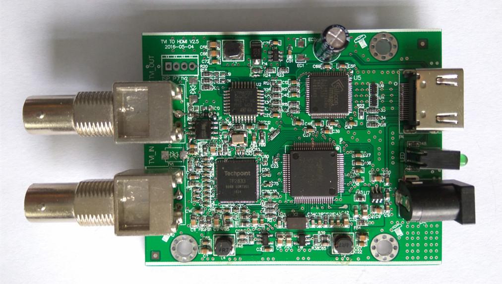 TVI/CVI/AHD 轉 HDMI VGA AV 方案(CH5600方案) 支持TVI 3MP-8MP攝像機
