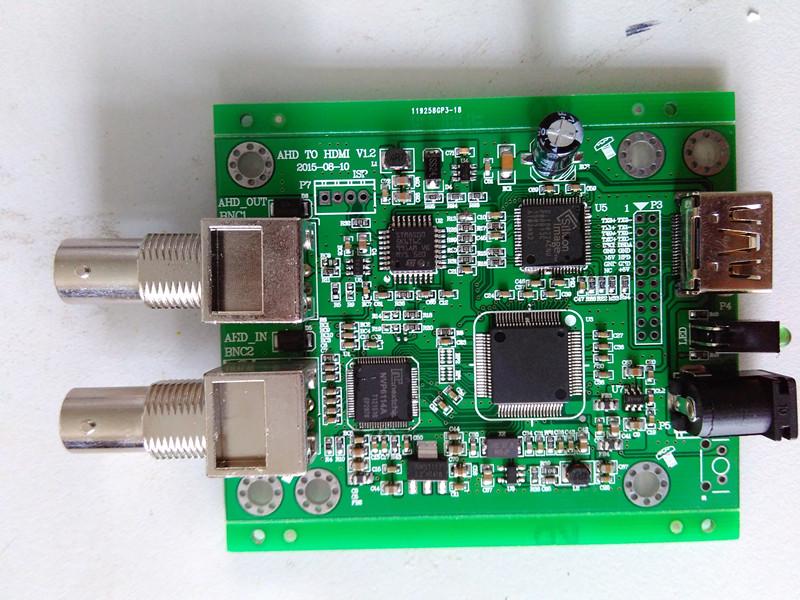AHD/CVI/TVI 轉 HDMI  方案(CH5600方案) 支持TVI 3MP - 8MP攝像機 TP2853