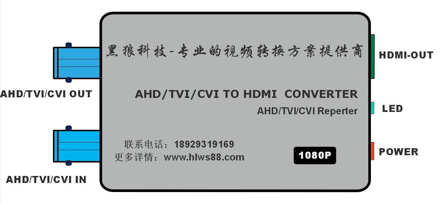 AHD/TVI/CVI 轉 AV 方案(CH5600方案)