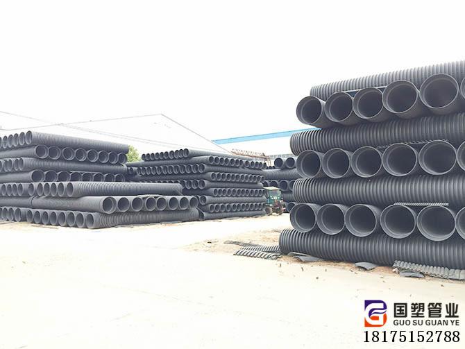 湖南HDPE波纹管张家界生产厂家 嘉禾双壁波纹管