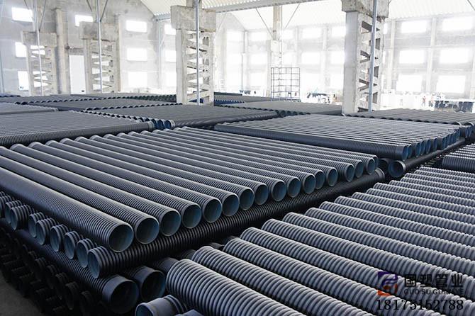湖南HDPE波纹管岳阳专业生产 涟源PE双壁波纹管