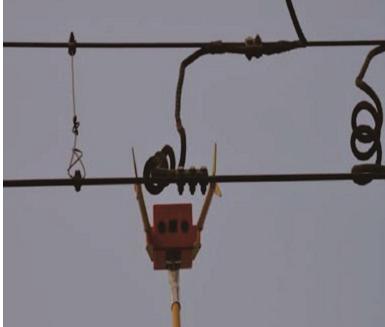 接触网(车顶)故障地面检查装置