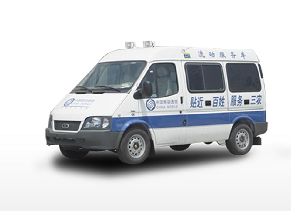 北京特种车销售  新世代全顺四排座中顶工程车