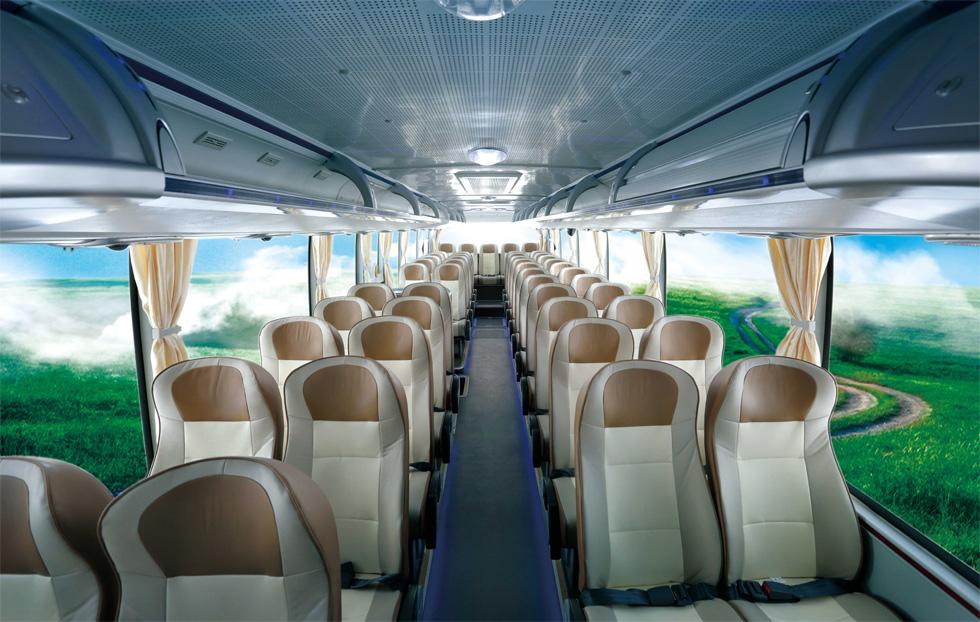 这是宇通大巴车上的座椅图片