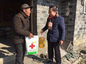 县红十字会开展阳光扶贫慰问工作