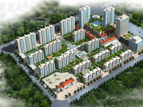 沽源县新合作广场商贸综合体项目