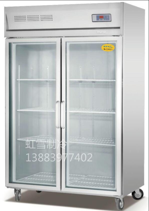 双门玻璃厨房柜