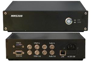 高清VGA/分量录股指期货实盘指导播系统(MMS308)
