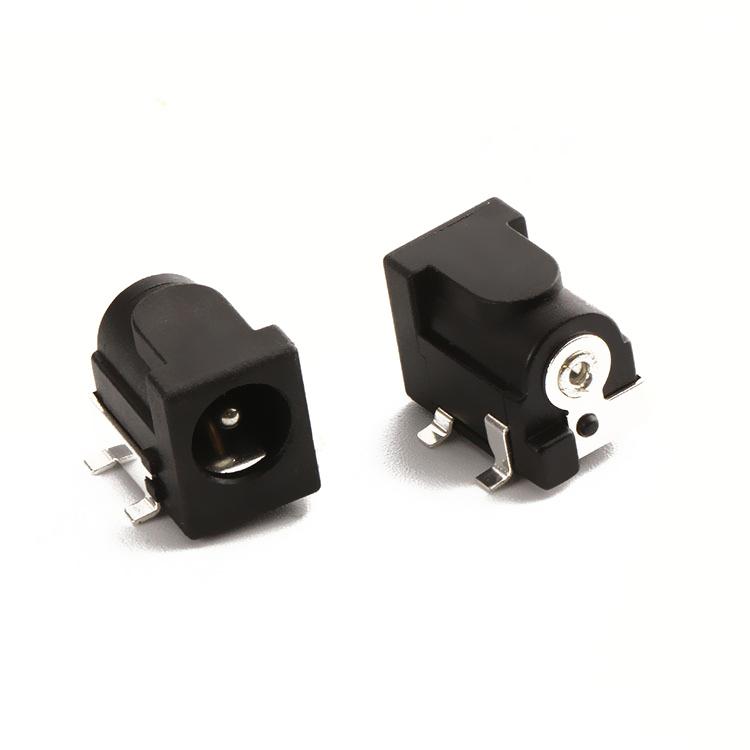 DC050Ф2.0/2.5/3.0 6.5(14.8*9*11)贴片DC电源插座