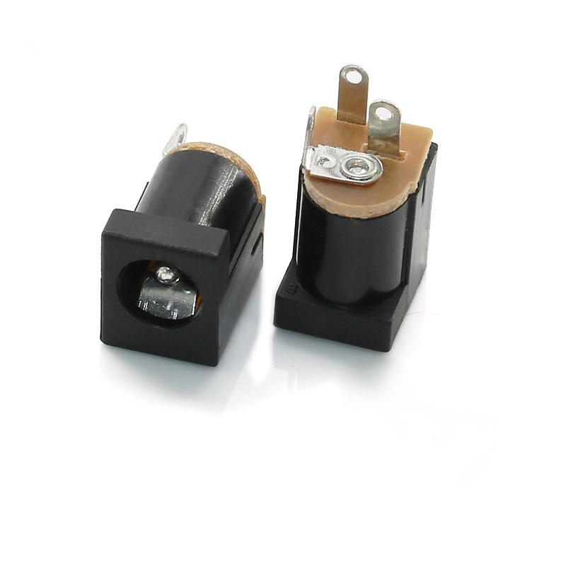 DC012Ф2.0/2.5 6.3(13.3*9*11) 180°DC电源插座