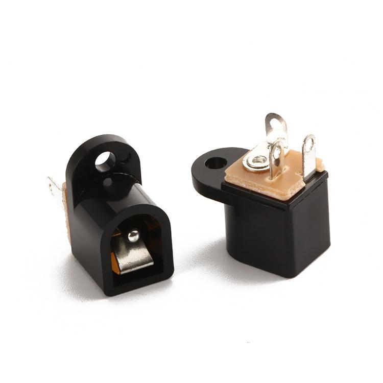 DC016AФ2.0/2.5 R3.3(12*15.5*9)180°DC电源插座