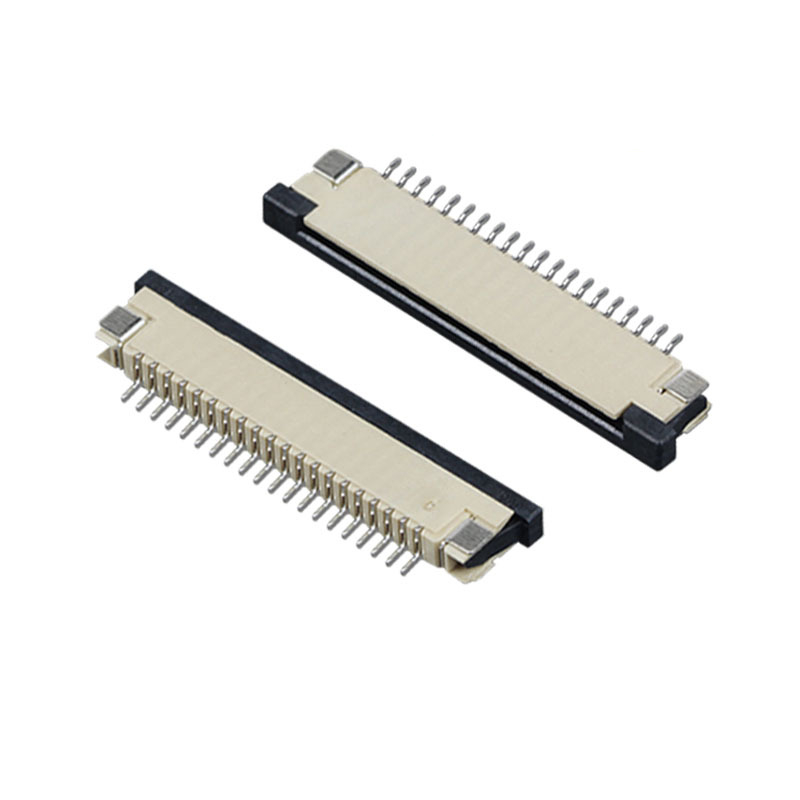 FPC连接器插座 1.0间距2.5高抽屉式下接触