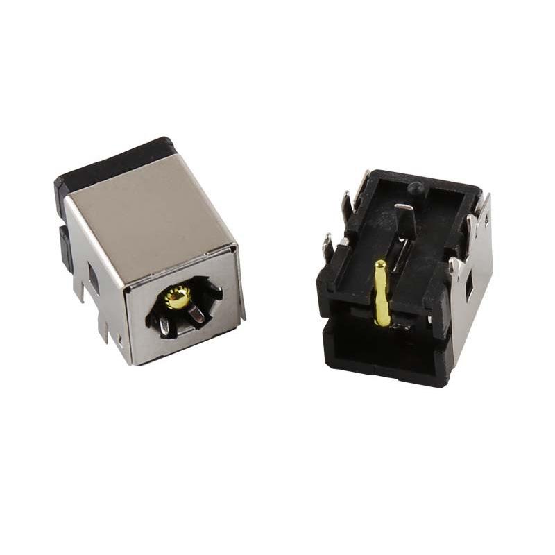 DC电源插座 DC0050L 大电流10A 带金属壳