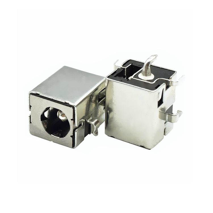 DC电源插座 DC00940L 大电流10A 带金属壳