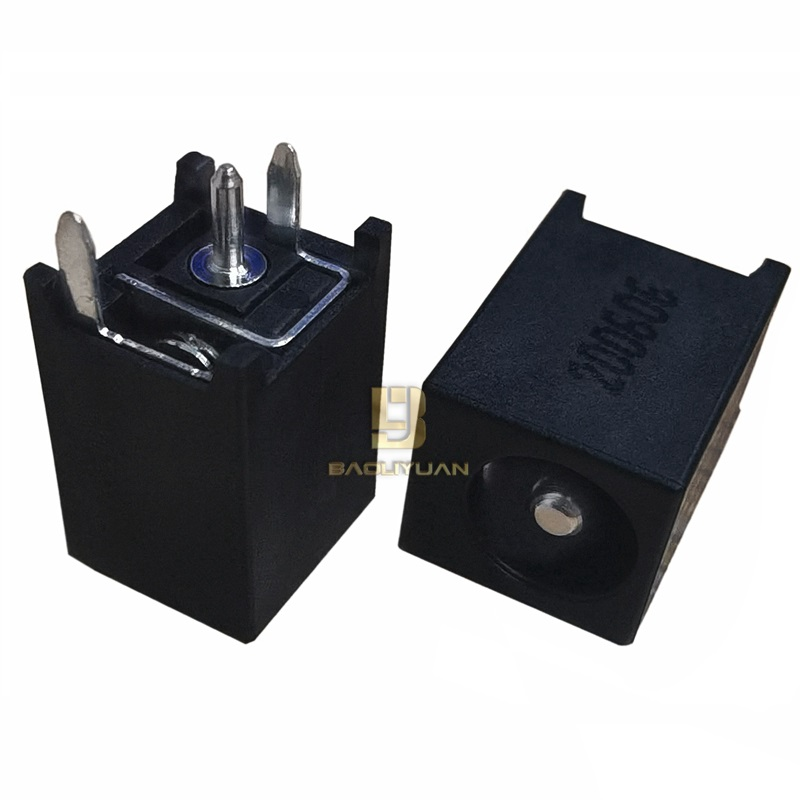 DC0184Ф2.5 6.0(13*9*8.3)立式大电流DC电源插座