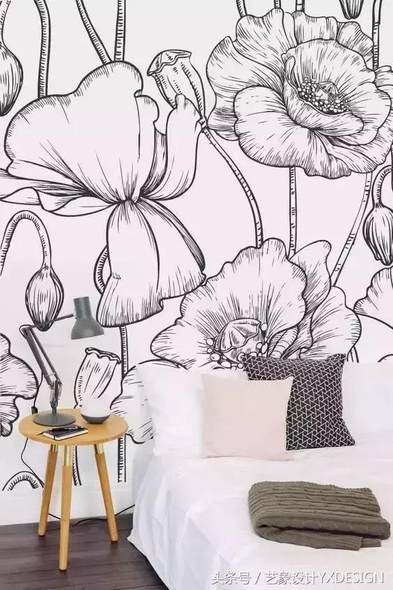 手绘墙,墙绘与室内设计的完美结合,北京手绘墙哪家好?首选北京dna涂鸦团队