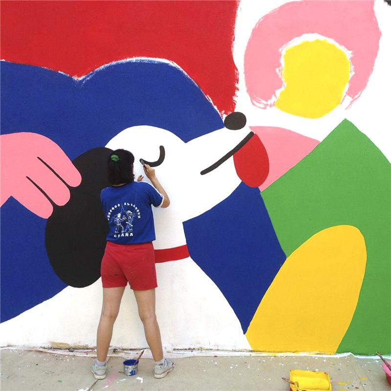 北京dna街头涂鸦_幼儿园墙体彩绘喷绘_彩绘墙_手绘墙_3d立体涂鸦