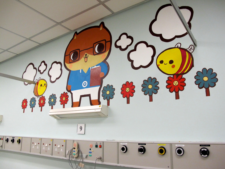 儿童房间手绘墙涂鸦墙体彩绘设计标准,这几项家长一定要注意!