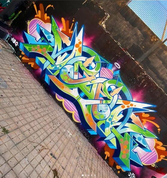 【涂鸦精选】关于街头涂鸦艺术文化作品介绍,街头艺术的源由