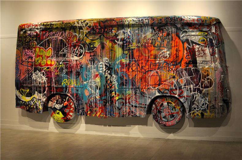 """北京DNA涂鸦--伦敦街头涂鸦展会 """"ART IN THE STREETS"""""""