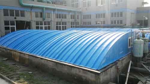 玻璃钢污水集气罩