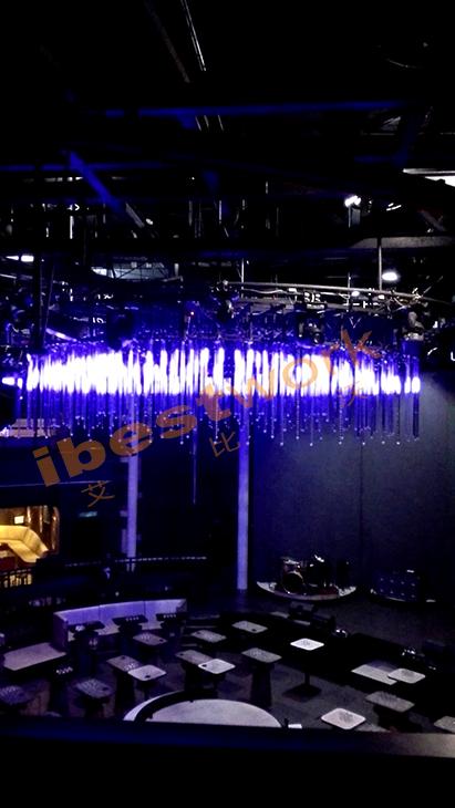 LED 3D Meteor Tube