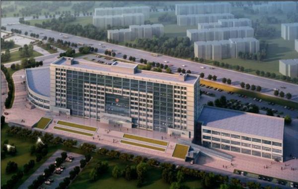 克拉瑪依市行政綜合樓