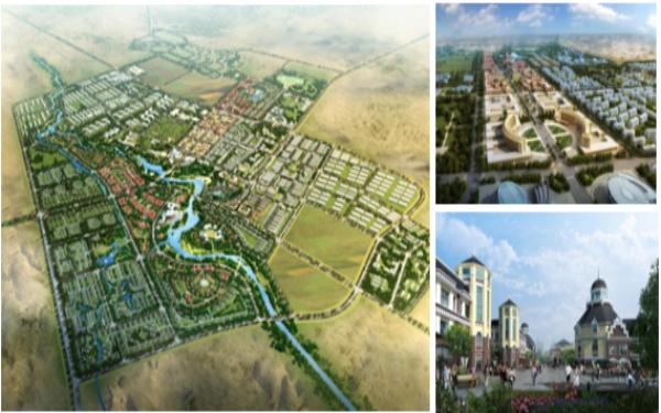 克拉瑪依市烏爾禾區城市設計