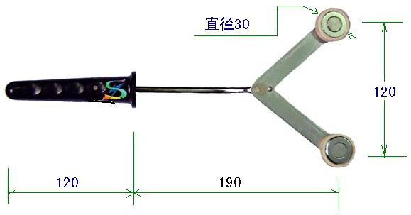 YC-A60S双头永磁吸盘手