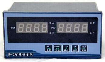 XMTA9912B智能双输入显示调节仪