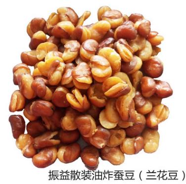 振兴公司散装油炸蚕豆整箱批发多种口味休闲零食兰花豆食品20斤装