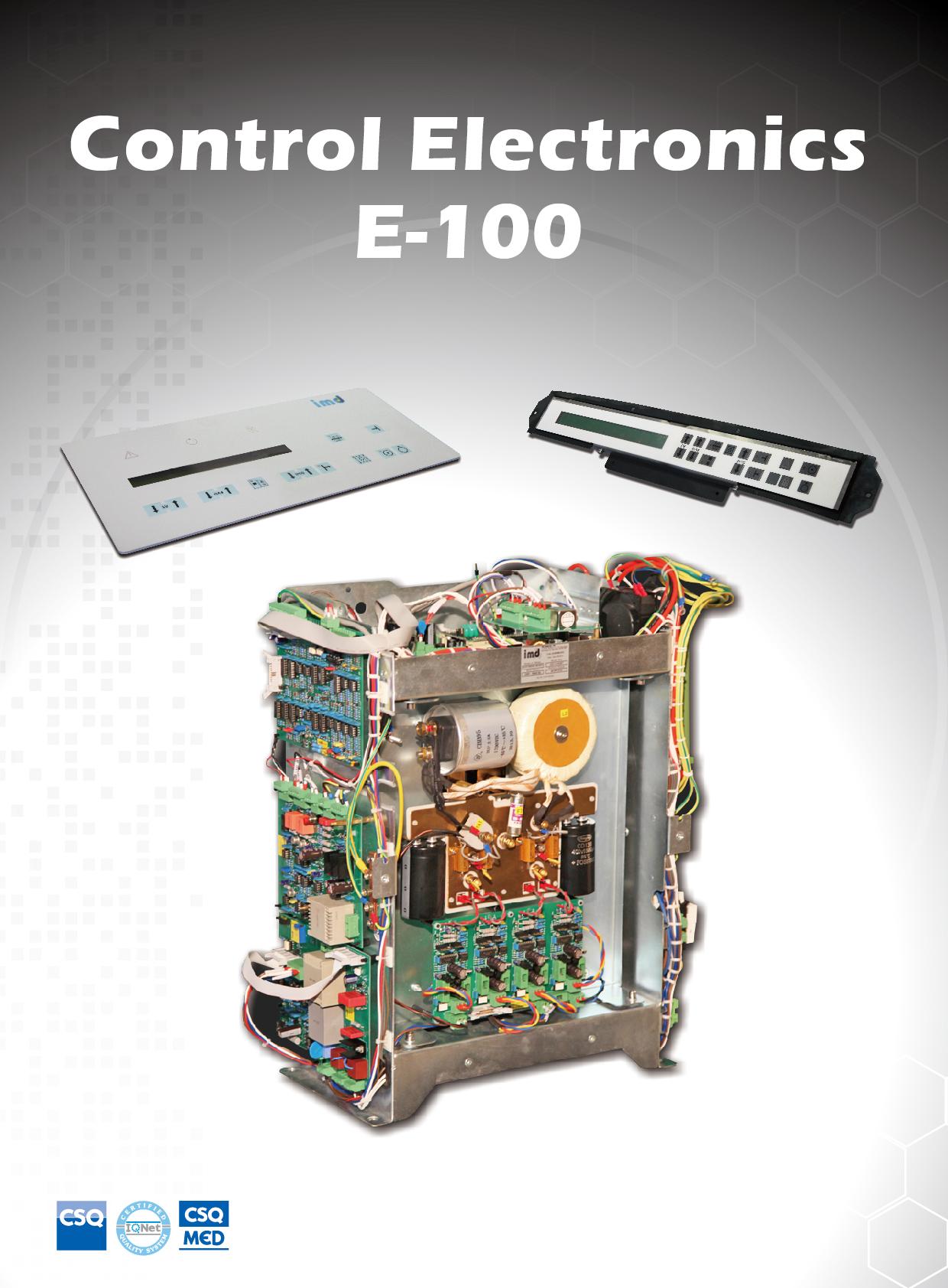 E-100 control electronics