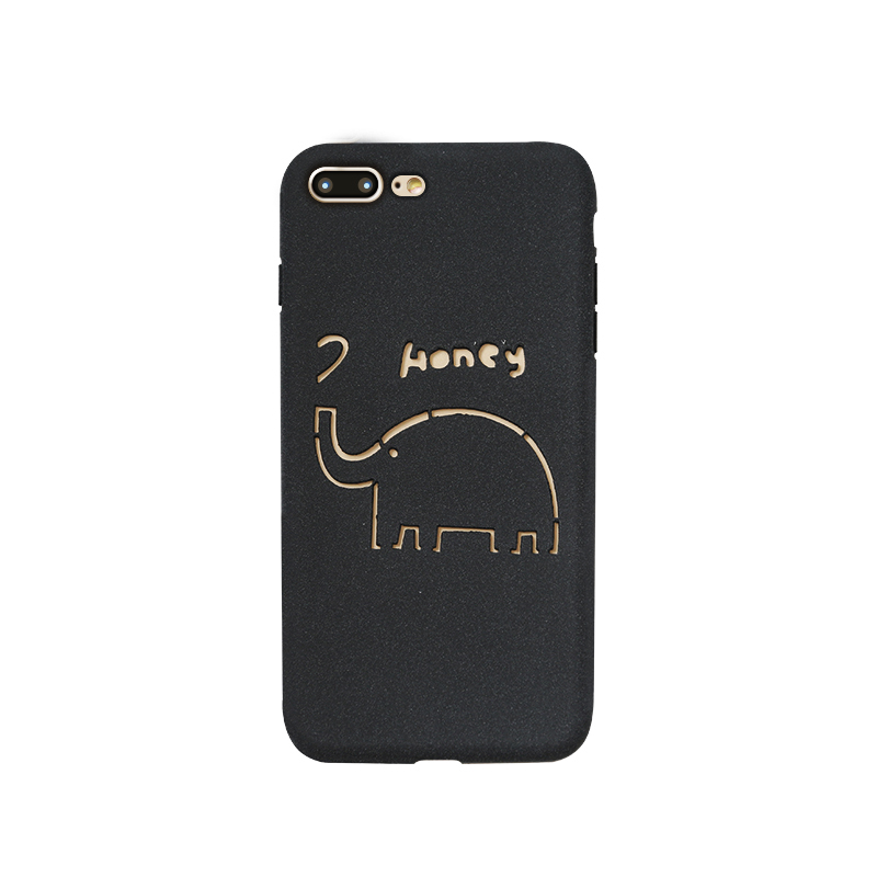 Laser engraving mobile phone protection shell-2