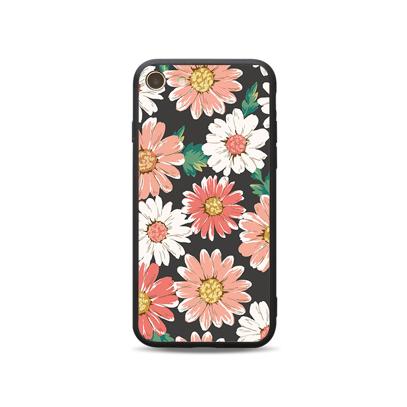 Black edge two in one painted mobile phone protective shell-A1