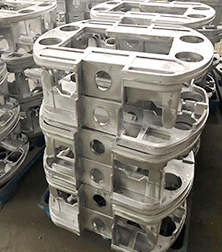机械行业铸铝支架
